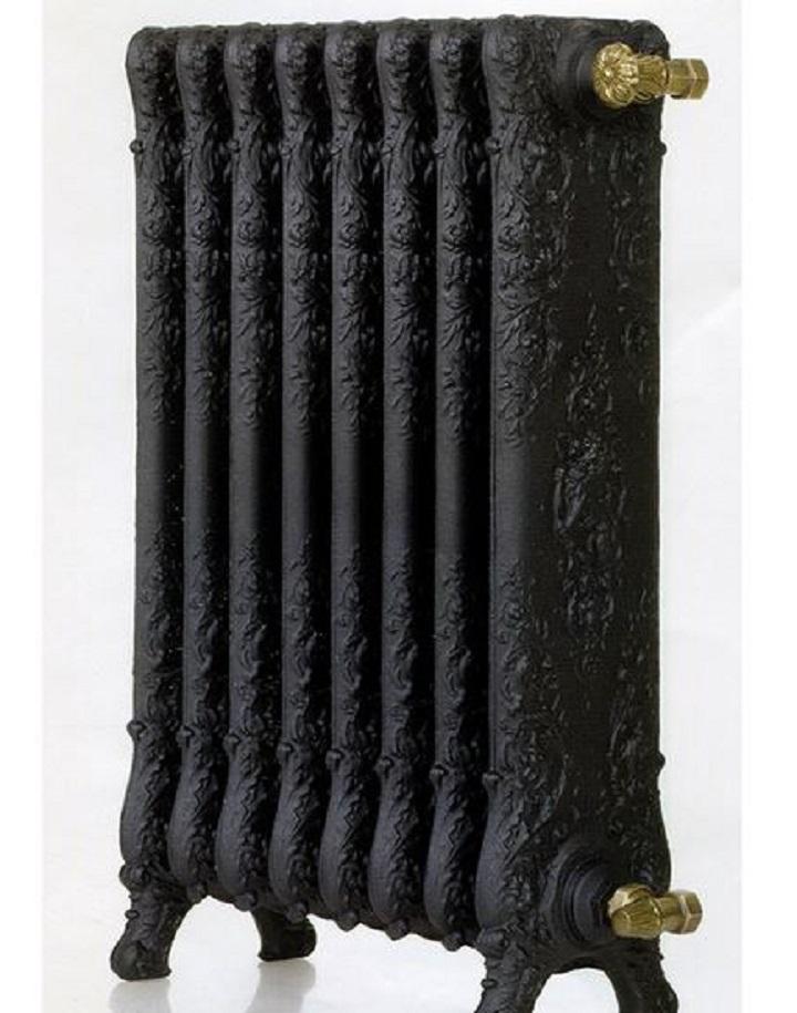 Чугунный дизайн-радиатор отопления обладает высокой художественной ценностью