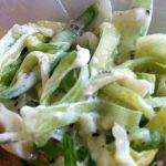 Фото 48: Салат из лука – порея Коламбус