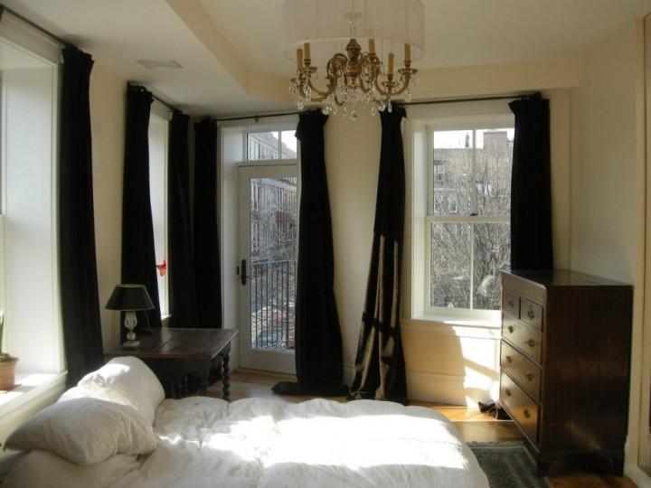 Современные шторы для спальни