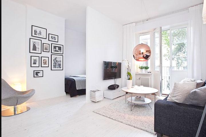 Интерьер однокомнатной квартиры-хрущевки