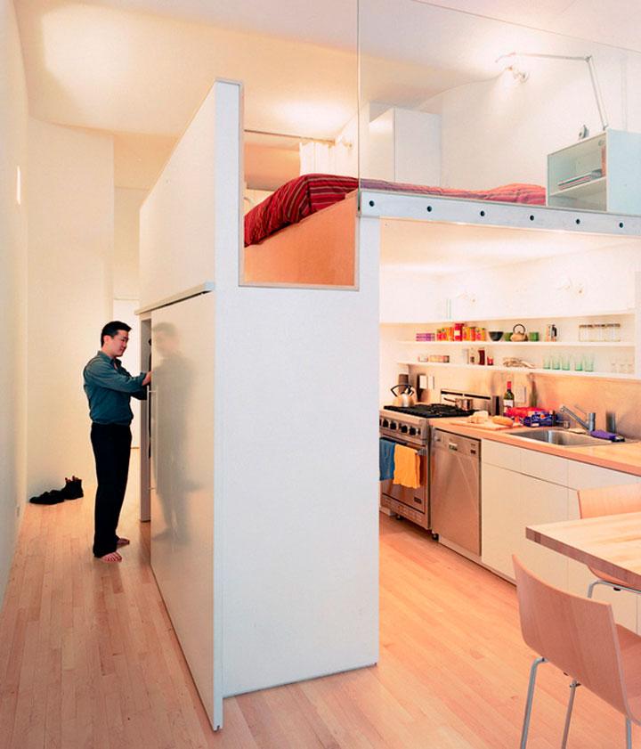 Шкаф и кухня