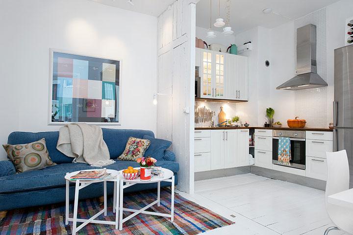 Однокомнатная шведская квартира
