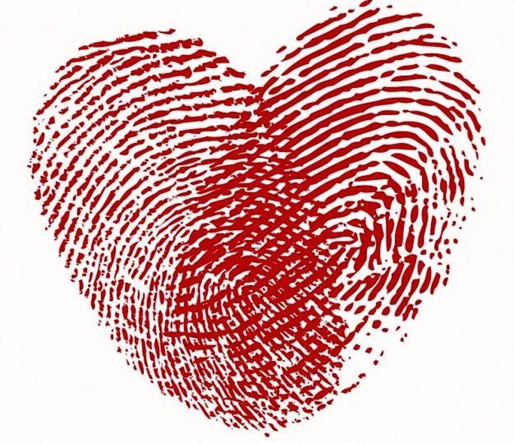 Сердечко-отпечаток