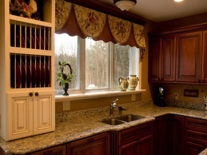 Занавески для кухни: свежие идеи