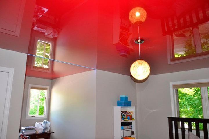 Красный потолок