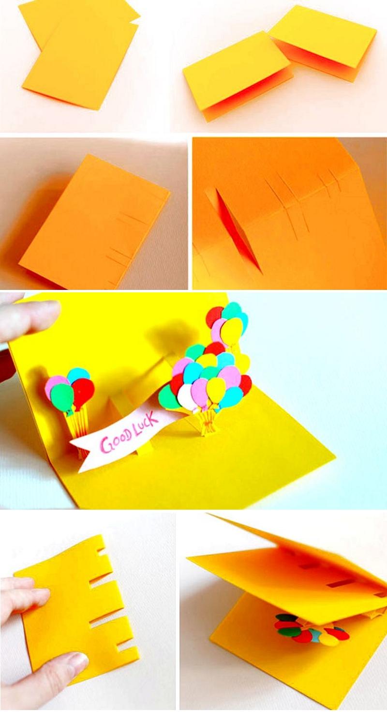 Как открытку своими руками фото на день рождения 923