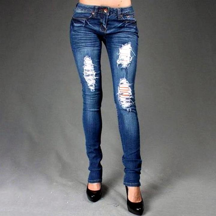 рваные джинсы своими руками (4)