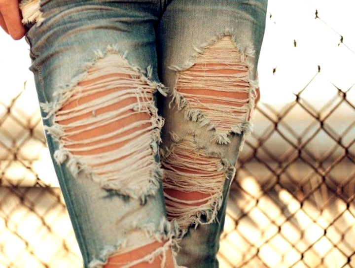 рваные джинсы (2)