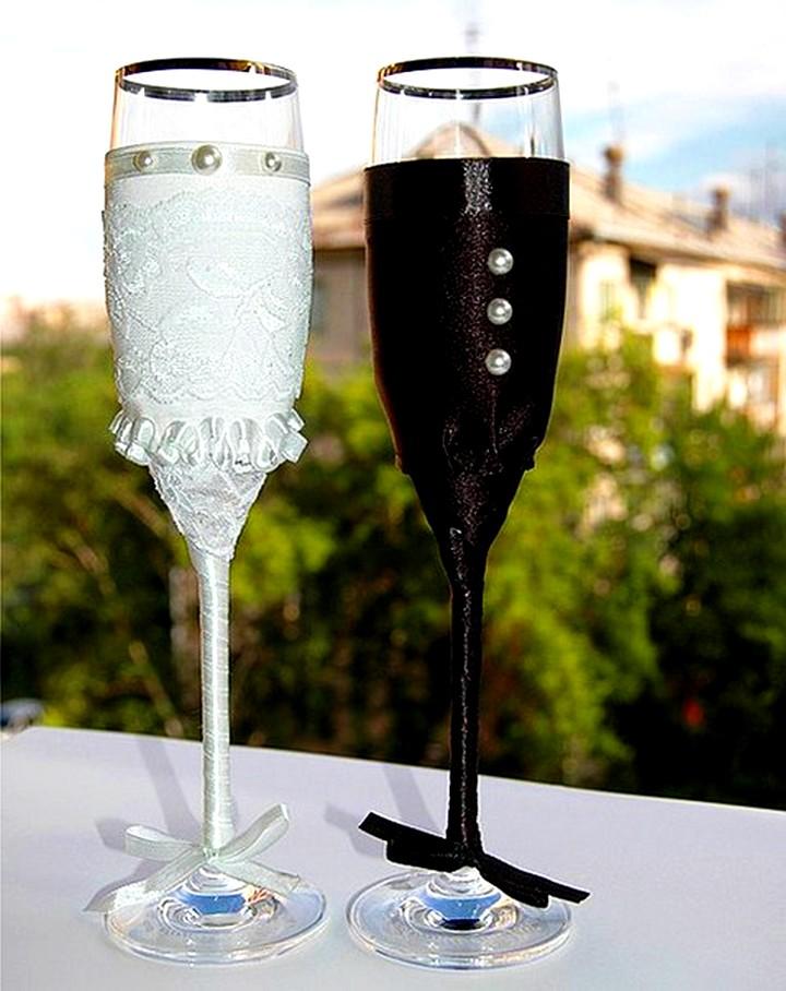 свадебные бокалы (2)