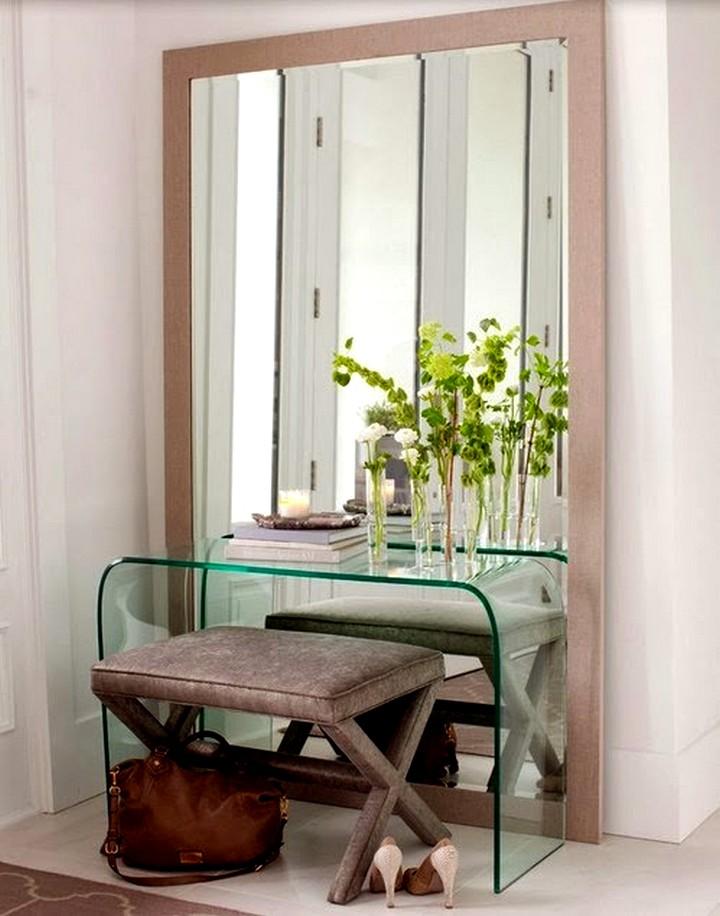 туалетный столик с цветами