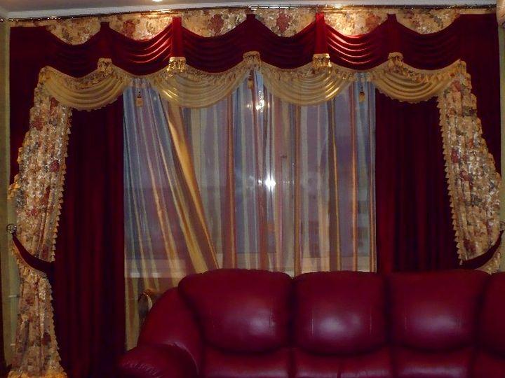 Многослойные роскошные шторы