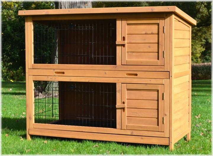 Делаем деревянную клетку для кроликов
