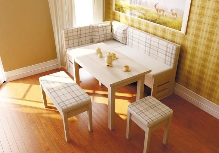 Современные дизайнеры предлагают кухонные уголки самых разных конфигураций