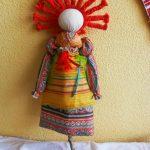 Фото 31: Домашняя кукла масленица