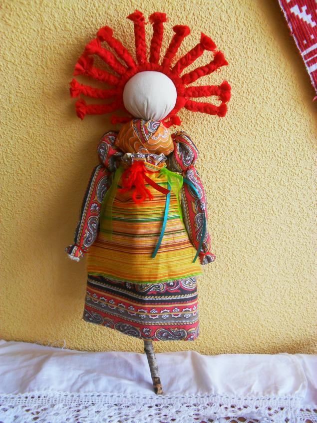 Обрядовая кукла масленица своими руками