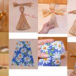 Фото 40: Изготовление куклы масленицы из веток своими руками