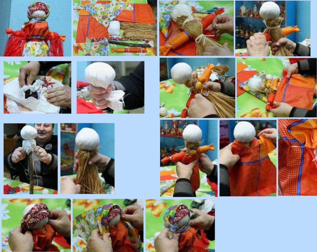 Изготовление куклы масленицы из лыкаИзготовление куклы масленицы из лыка