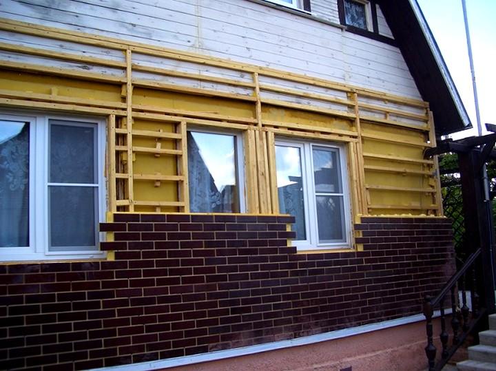 Обшить дом фасадными панелями 147