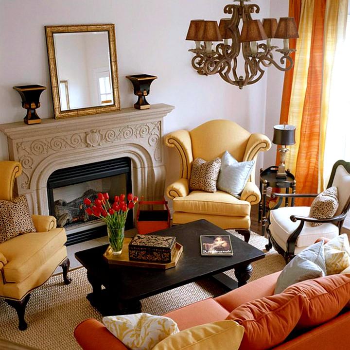 Мебель для маленькой гостиной комнаты3