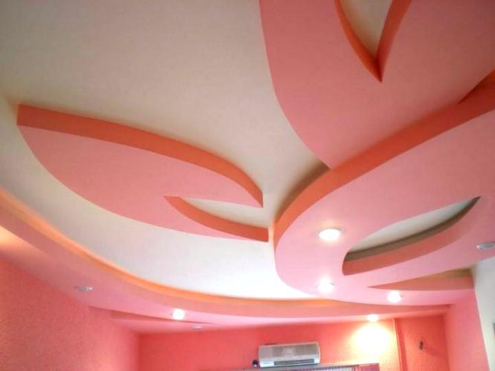 Фигурные потолки из гипсокартона дизайн