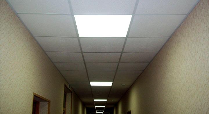 Светодиодные потолочные светильники Армстронг2