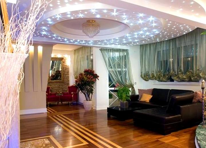 Точечные светильники для гипсокартонных потолков2
