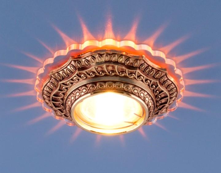 Точечные светильники для гипсокартонных потолков3