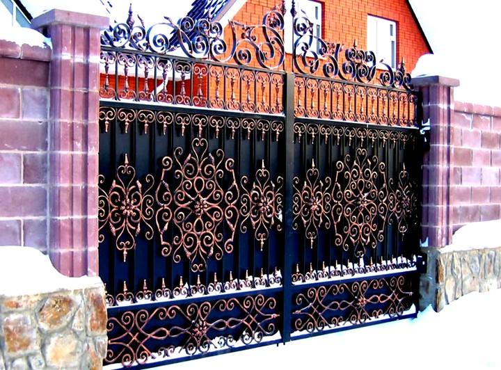 кованые ворота (2)