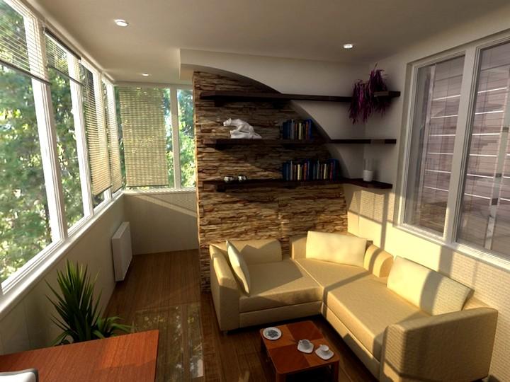отделка балконов и лоджий (2)