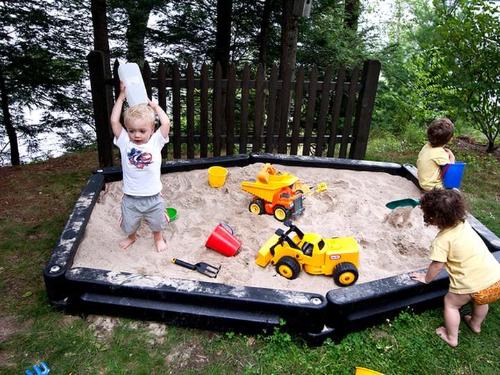 песочница своими руками (3)