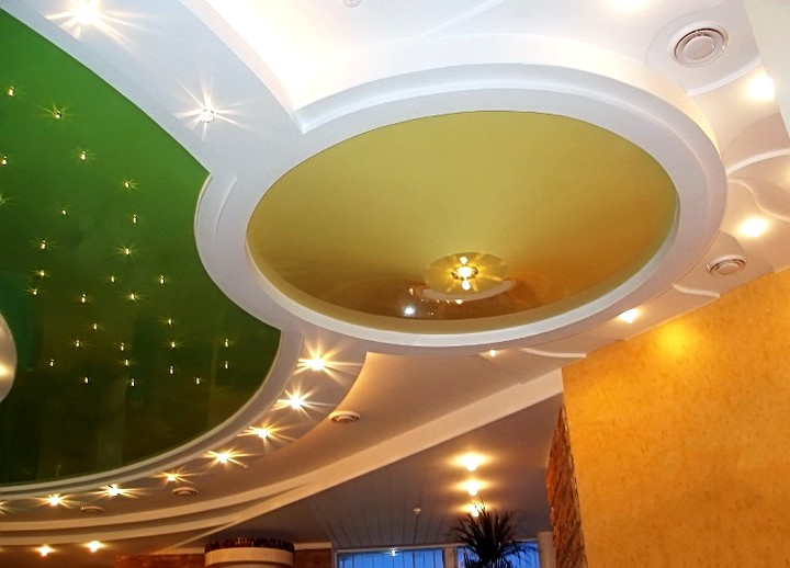 точечные светильники для гипсокартонных потолков (2)
