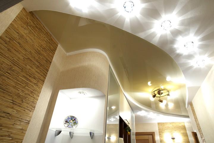 точечные светильники для гипсокартонных потолков (3)