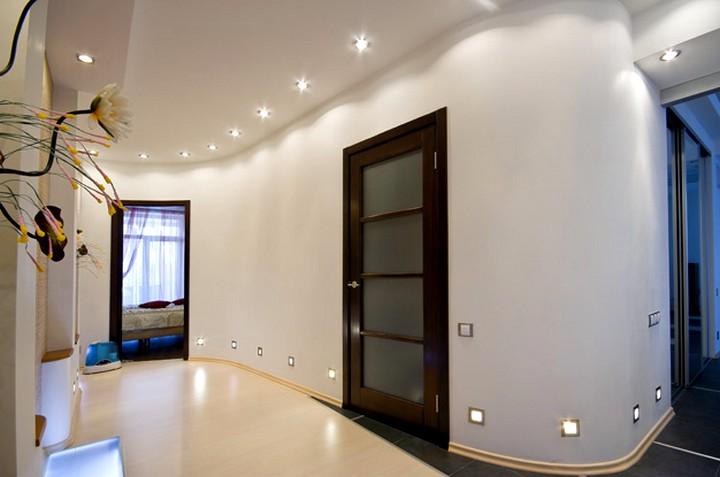 точечные светильники для гипсокартонных потолков (4)