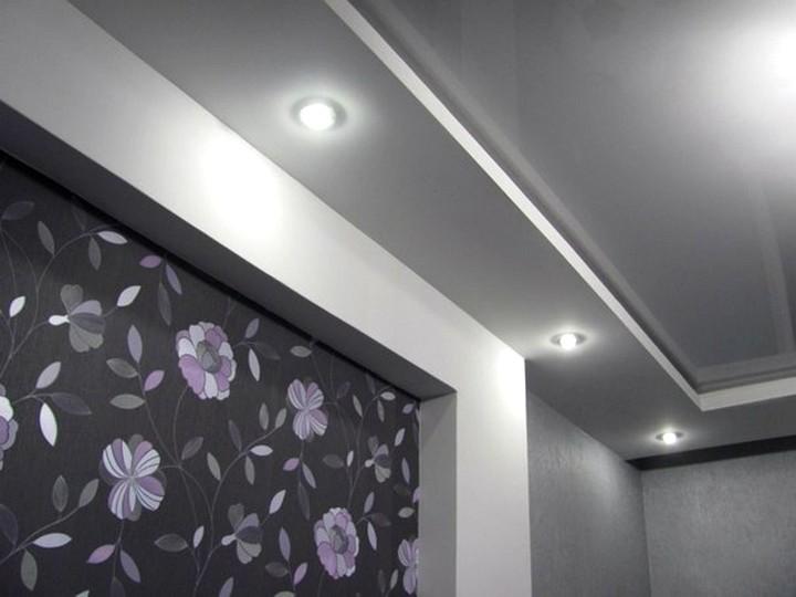 точечные светильники для гипсокартонных потолков (5)