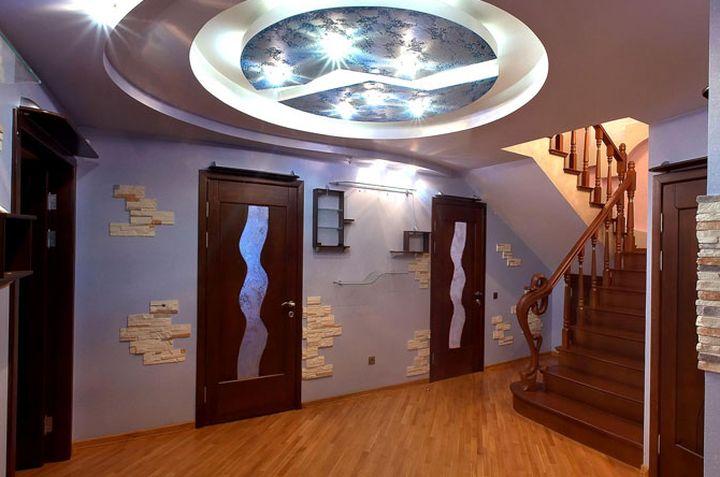 Круглая форма потолка