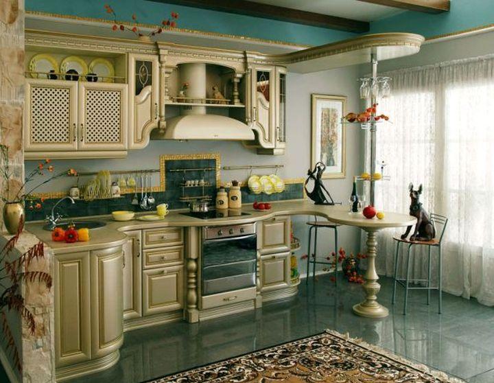 Организация кухонного пространства