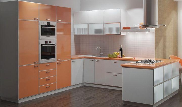 Мебель для средней кухни
