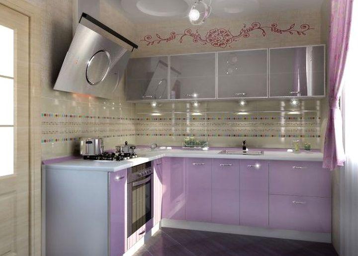 Функциональность маленькой кухни