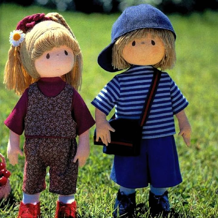 Характерные куколки