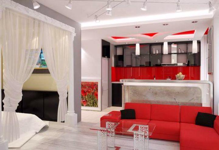 Дизайн квартиры 35 кв.м.
