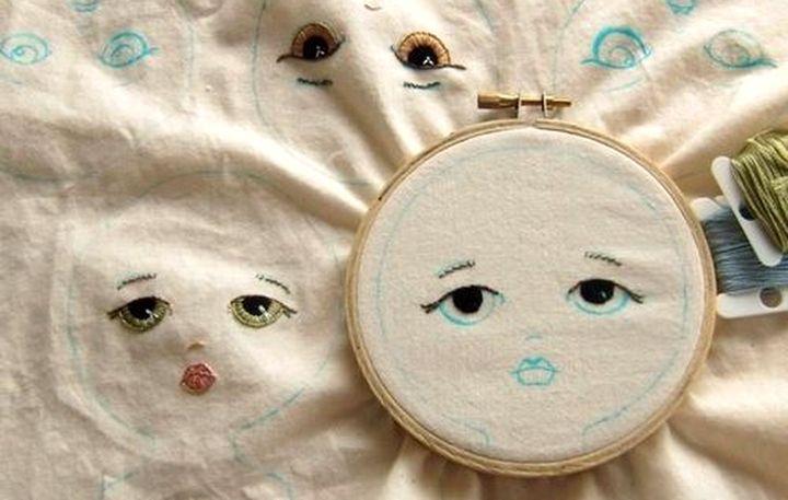 Основное глаза