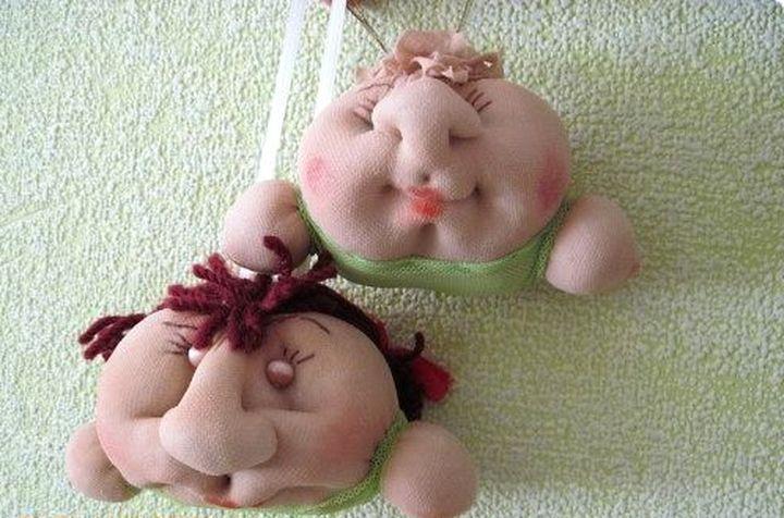 Куколки из колгот