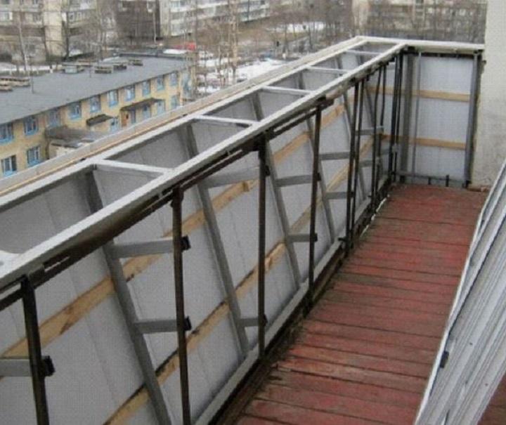 Выносное остекление балконов и лоджий