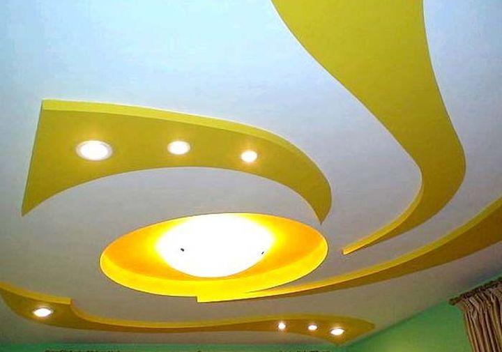 Необычная форма потолка