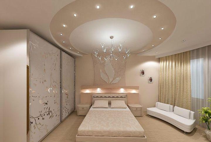 Акцент с помощью формы потолка