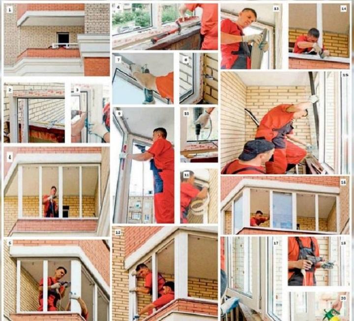 Технология теплого остекления лоджии и балкона