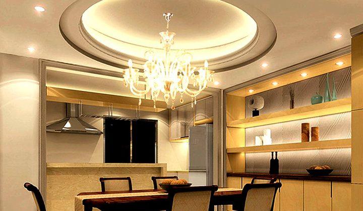 Красивый потолок для кухни