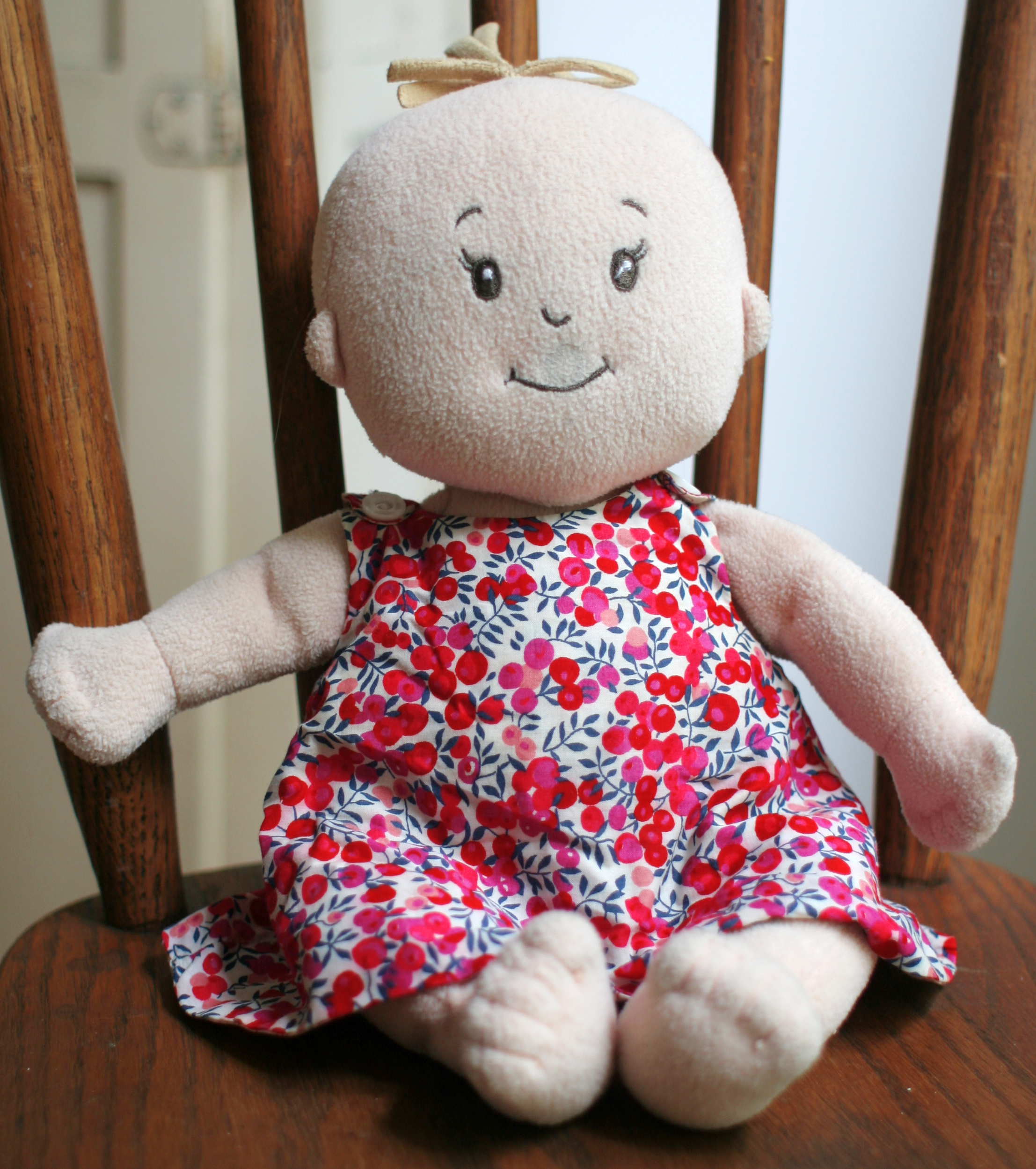 Кукла пупсик или малыш из ткани
