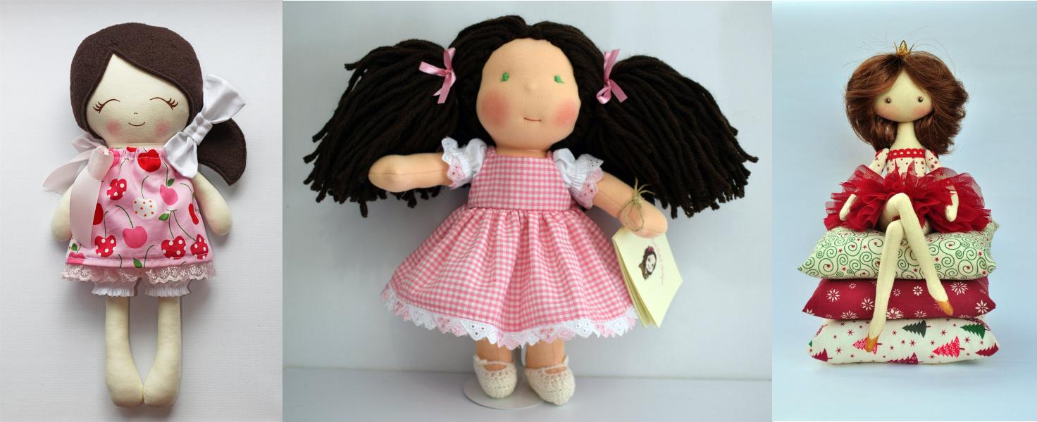Самодельные куколки с характером
