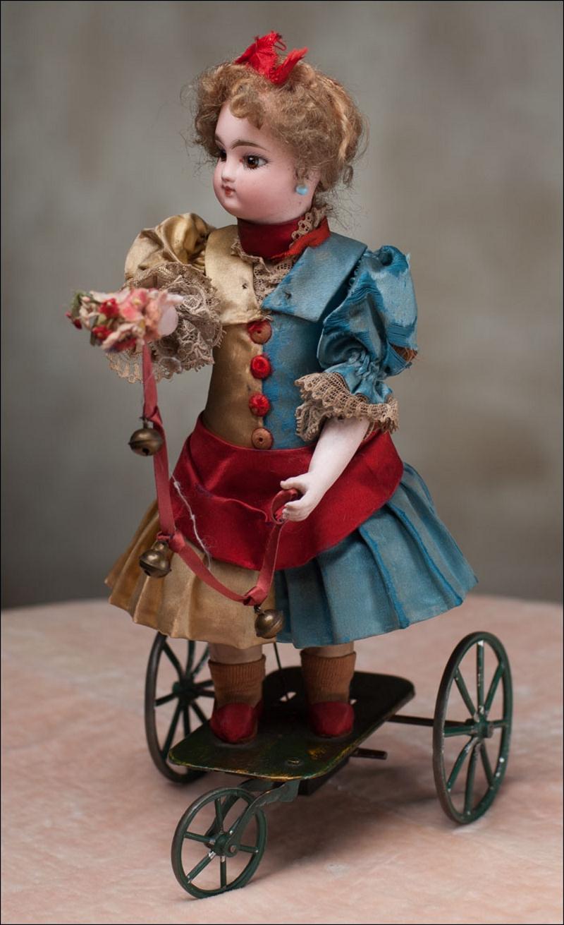 Механическая кукла 18 век